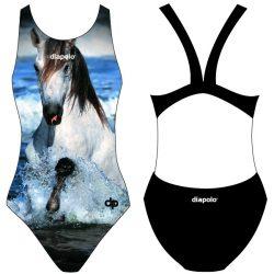 Damen Schwimmanzug-Horse 2 mit breiten Trägern