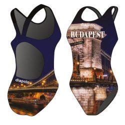Damen Schwimmanzug-Budapest 1 mit breiten Trägern