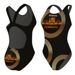 Damen Schwimmanzug-Budapest 3 mit breiten Trägern
