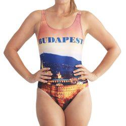 Damen Schwimmanzug-Budapest 4 mit breiten Trägern