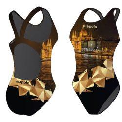Damen Schwimmanzug-Parliament mit breiten Trägern