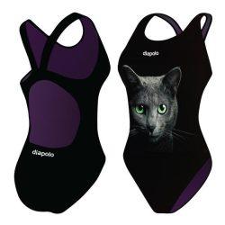 Damen Schwimmanzug - Cat mit breiten Trägern