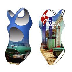 Damen Schwimmanzug - Cuba mit breiten Trägern