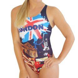 Damen Schwimmanzug - London 1 mit breiten Trägern