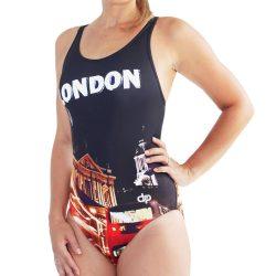 Damen Schwimmanzug - London 2 mit breiten Trägern