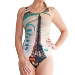 Damen Schwimmanzug - Paris mit breiten Trägern