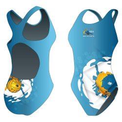 Damen Schwimmanzug-HWPSC1 mit breiten Trägern