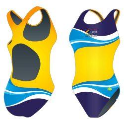 Damen Schwimmanzug-HWPSC3 mit breiten Trägern