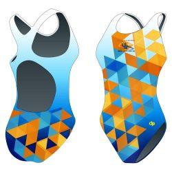 Damen Schwimmanzug-HWPSC5 mit breiten Trägern