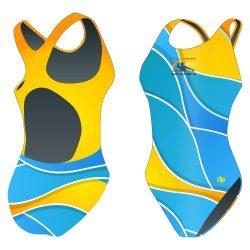 Damen Schwimmanzug-HWPSC6 mit breiten Trägern