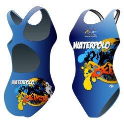 Damen Schwimmanzug-HWPSC Florida beach mit breiten Trägern