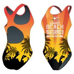 Damen Schwimmanzug-HWPSC Malaga HandsUp mit breiten Trägern