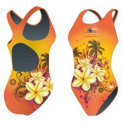Damen Schwimmanzug-HWPSC Malaga Vanilla mit breiten Trägern
