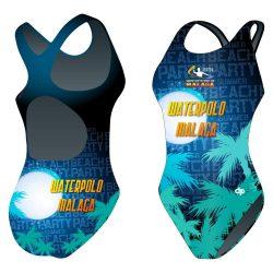 Damen Schwimmanzug-HWPSC Malaga night mit breiten Trägern
