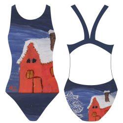 Damen Schwimmanzug-Haus