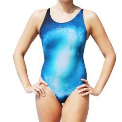 Damen Schwimmanzug - Galaxy mit breiten Trägernn