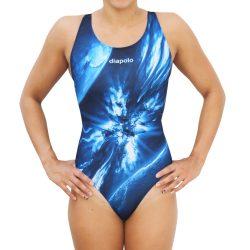 Damen Schwimmanzug - Planet mit breiten Trägernn