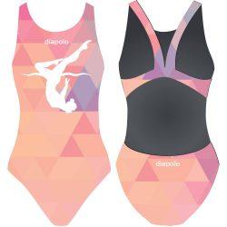 Damen Schwimmanzug-Triangle girl