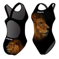 Damen Schwimmanzug - Golden Lion 2 mit breiten Trägern