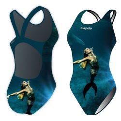 Damen Schwimmanzug-Sync mermaid