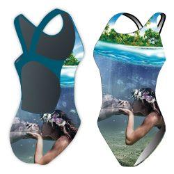 Damen Schwimmanzug-Sync mermaid kiss