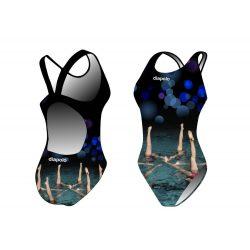 Damen Schwimmanzug - Sync fishtails (synchro 6)
