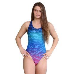 Damen Schwimmanzug - Diapolo Design 1 mit breiten Trägern