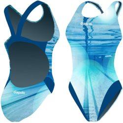 Damen Schwimmanzug-Underwater mit breiten Trägern
