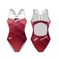 LUGI - Badeanzug mit dünnen Trägernn