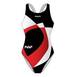 Montpellier-Damen Badeanzug mit Dickesband