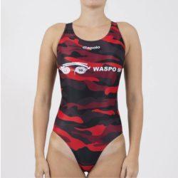 WASPO 98 - Damen Schwimmanzug mit breiten Trägernn Design1