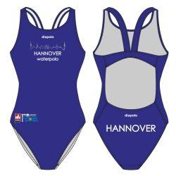 Waspo Hannover - Badeanzug mit breiten Trägernn