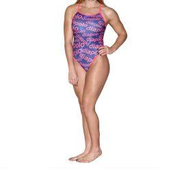 Damen Badeanzug - Diapolo Design 2 mit dünnen Trägernn