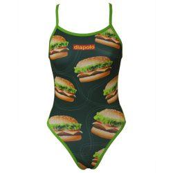 Damen Badeanzug - Hamburger mit dünnen Trägernn