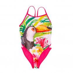 Damen Schwimmanzug - Toucan mit breiten Trägern