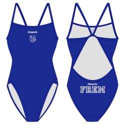 Frem - Damen Schwimmanzug mit dünnen Trägernn