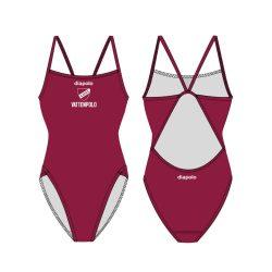 LUGI - Badeanzug mit breiten Trägernn