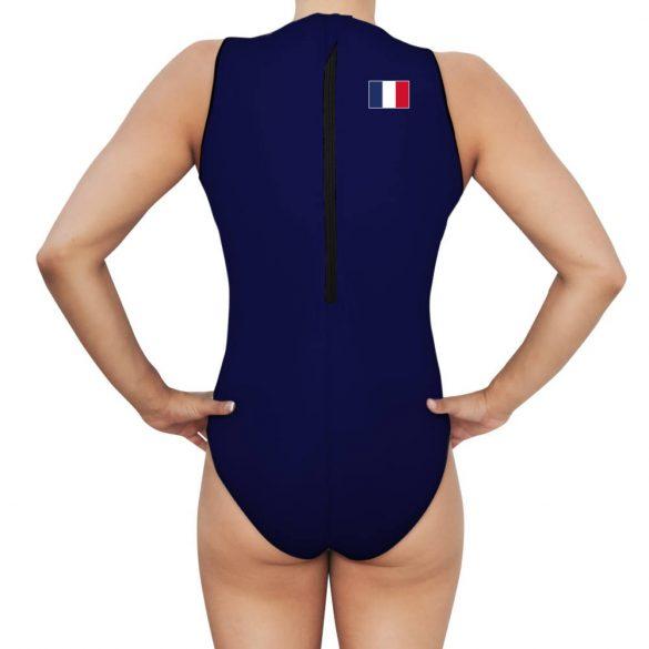 Francia női válogatott vízilabdás úszódressz