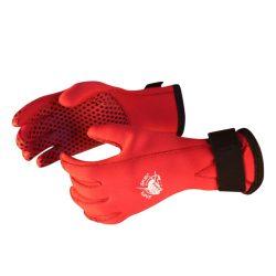 Taucherhandschuh - 3mm rot Neopren