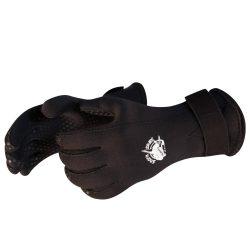 Taucherhandschuh - 3mm schwarz Neopren