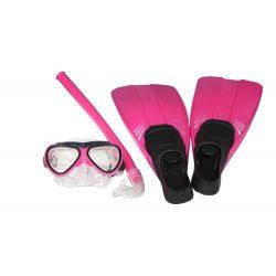Taucher set- pink Kinder