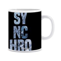 Tasse-Sync text