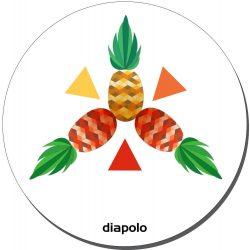 Mausunterlage - Pineapple 2