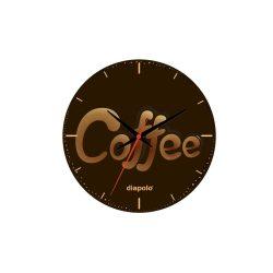 Wanduhr - Coffee