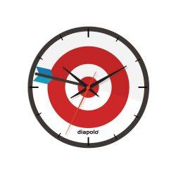 Wanduhr-Dartboard