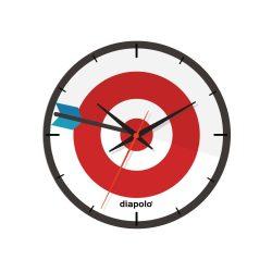 Wanduhr - Dartboard
