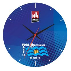 Waspo Hannover - Wand Uhr