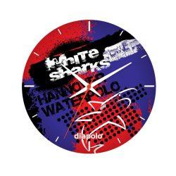 White Sharks - Wand-Uhr