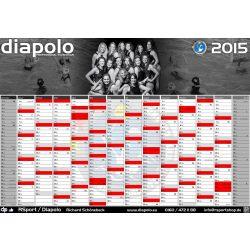 Kalendar-Deutsche Damen Wasserball Nationalmannschaft 2015