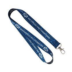 Schlüsselband - DP navy-royalblau